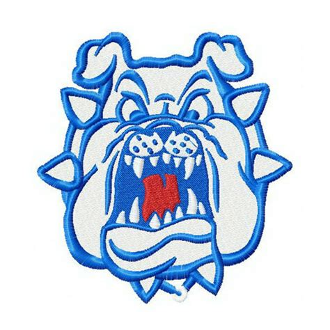 Is Fresno State Mba A Top 50 by Fresno State Bulldogs Embroidery Design Instant