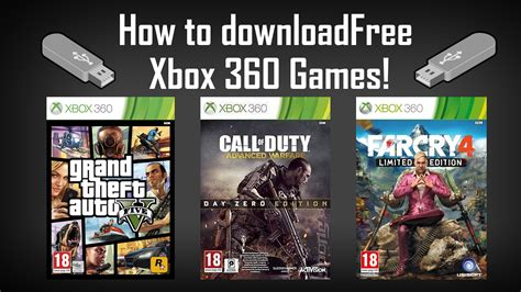 free full version downloadable games xbox 360 how to mod xbox 360 games with usb youtube