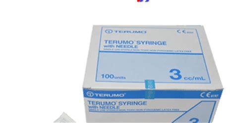 Needle Terumo Terumo Needle Jarum Terumo No 18 G 30 G 3 jarum suntik spuit terumo 3 cc toko medis jual alat