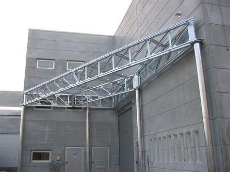 tettoie in ferro zincato tettoie vastema