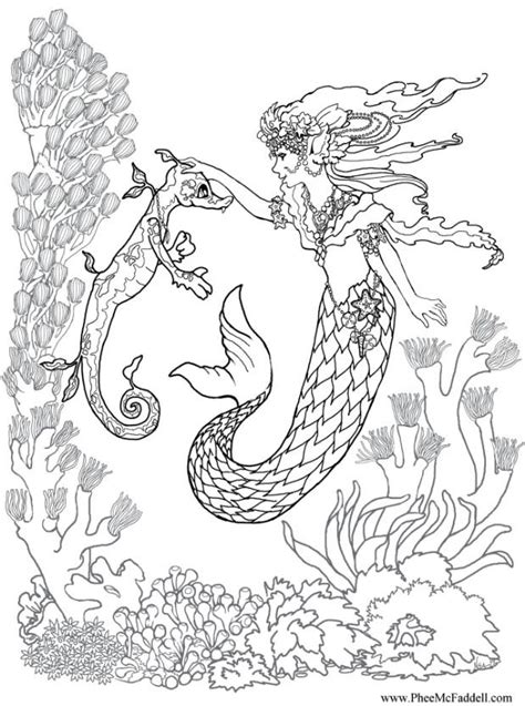 Detailed Princess Coloring Pages Printable Detailed Mermaid Coloring Pages Printable Princess