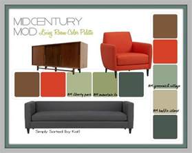 mid century modern color palette pin by andrea s on living room