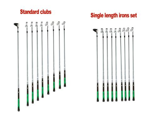 length of standard are single length irons another gimmick to sell more golf