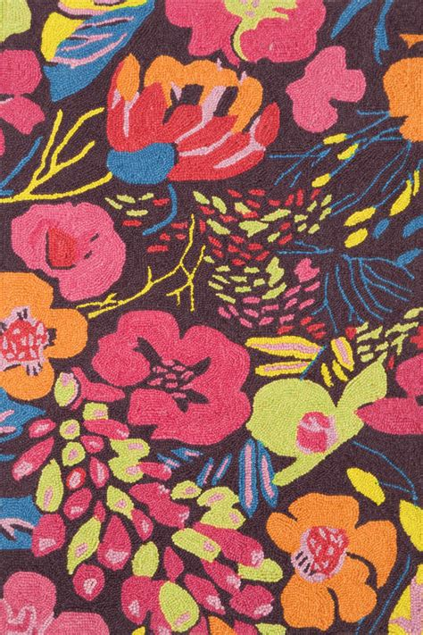 colorful floral area rugs dash albert house winter