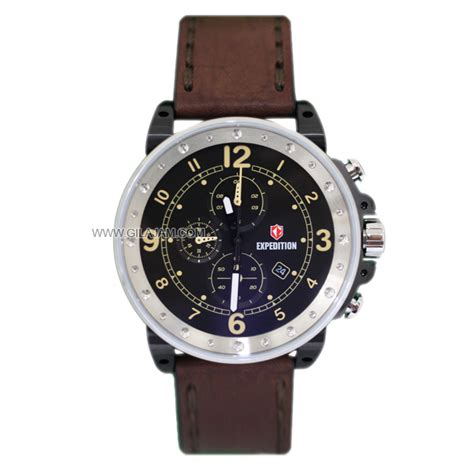 Expedition E6681 jam tangan expedition e6681 m bslb leather
