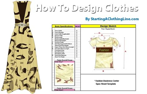 fashion design your own clothes how to design your own clothes