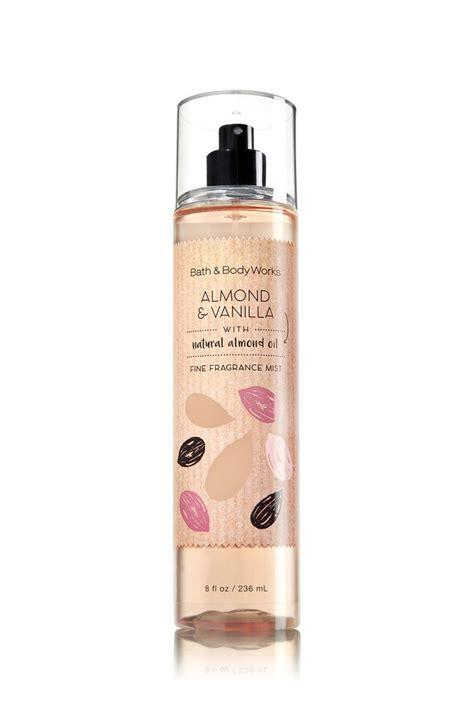 Parfum Shop Vanilla bath works fragrance mist almond vanilla flavor