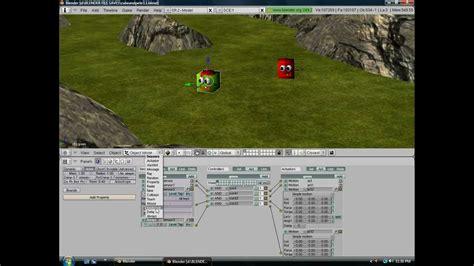 tutorial blender game engine español 1 blender game engine tutorial basic character movement