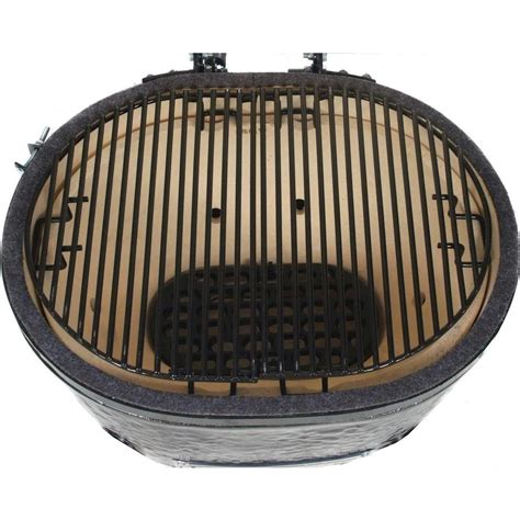 Primo Large Grill by Primo Oval Large Ceramic Kamado Grill On Countertop
