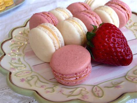 macarons recipe strawberry macarons recipe dishmaps