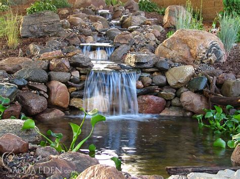 Backyard Pond With Waterfall by S Koi Fish Guitar