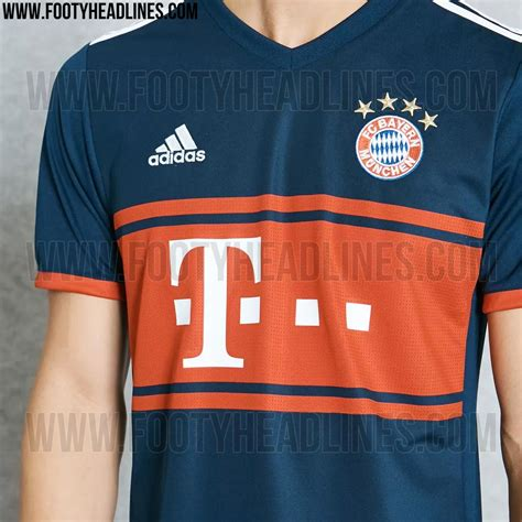 Jersey Munchen Away 2018 last but not least a simple v collar and white adidas