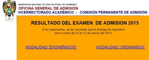 Lista De Ingresantes Unsch Del Examen De Admision 22 De | lista de ingresantes unsch del examen de admision 22 de