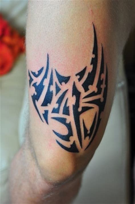 tribal tattoo knee knee tribal by autopirate on deviantart