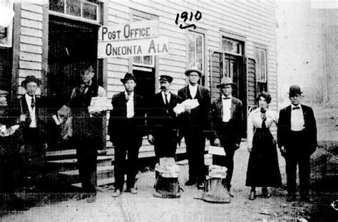 Oneonta Post Office by 1910 Oneonta Post Office Al Sweet Home Alabama