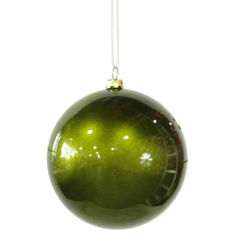 vickerman 28522 4 quot dark olive candy finish ball