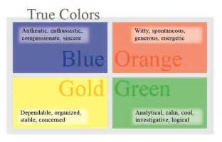 true colors true colors personality
