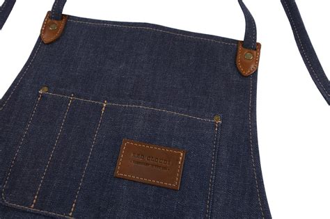 Appron Celemek Denim the winston apron selvage denim clouds collective made in the usa