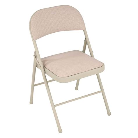 Steel Folding Chair by Cosco Home And Office Steel Padded Folding Chair Set Of