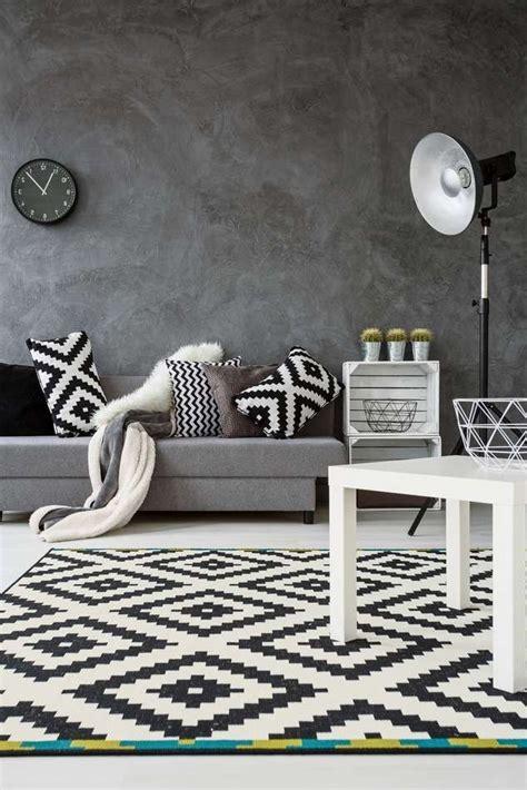ikea teppiche schwarz weiß tolle schwarz wei wohnzimmer ideen die kinderzimmer