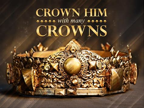 crown him easter sermon powerpoint easter sunday