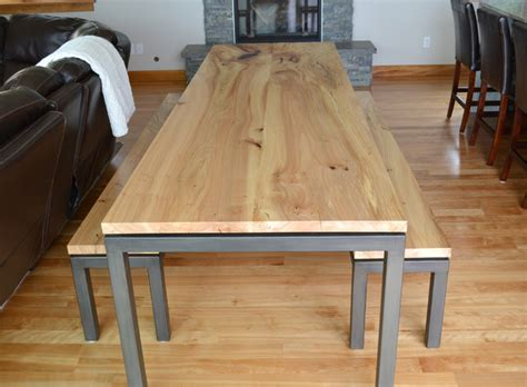 Custom Kitchen Tables Dash Point Custom Dining Table Contemporary Dining Tables Seattle By Madera Furniture