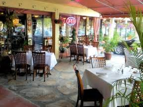 outdoor patio fine dining hospitality of cafe vico restaurant fort lauderdale florida by