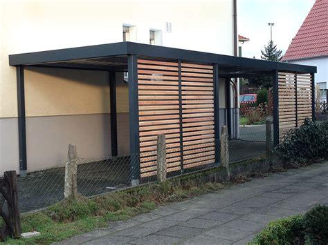 carport modern einzelcarports carceffo moderne carports garagen