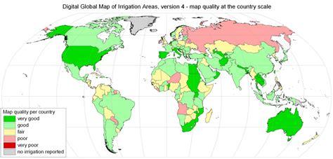 a quality world map installation global irrigation map goethe universit 228 t