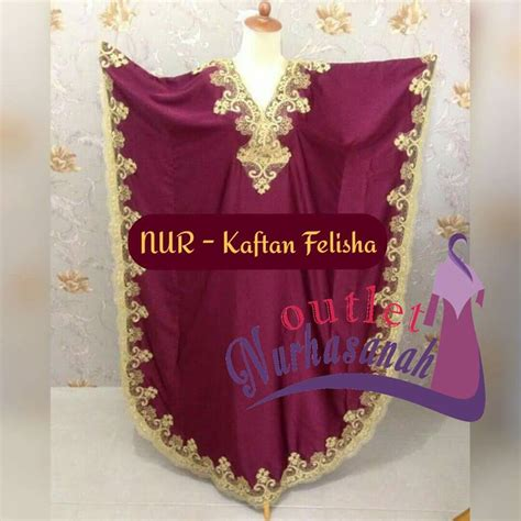 Felisha Dress Gamis Maxi sifon murah outlet nurhasanah outlet baju pesta