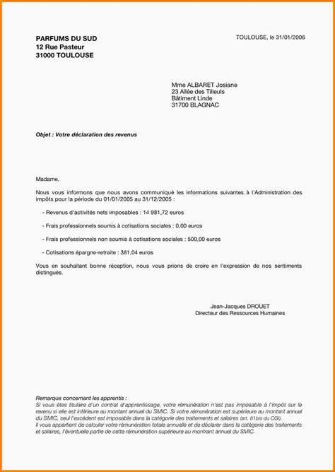 5 courrier exemple exemple lettre