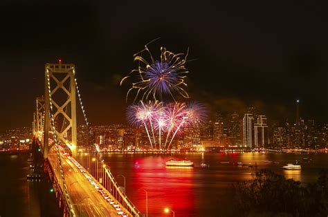new year san francisco beautiful fireworks photos and time lapse