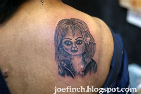 bride of chucky tattoo official of ink by finch singapore june