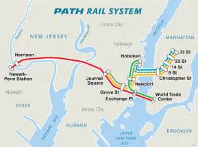 New York Path Map by Maps Path The Port Authority Of Ny Amp Nj