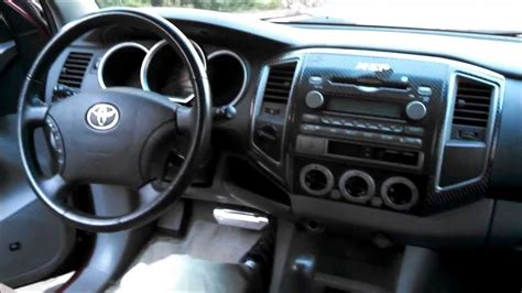 toyota tacoma dash removal youtube