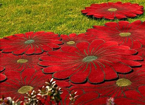 Flower Design Rugs | red flower rugs contemporary rugs with flower designs for