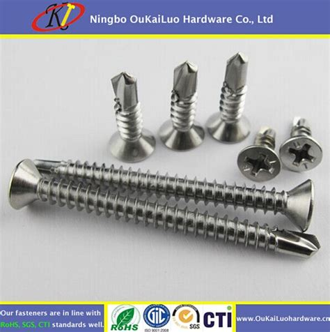 Patta Stainlestell 9 high quality stainless steel wafer self drill screws buy hilti self drilling patta