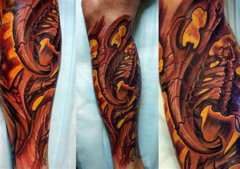 biomechanical tattoo artists houston image gallery organic biomechanical
