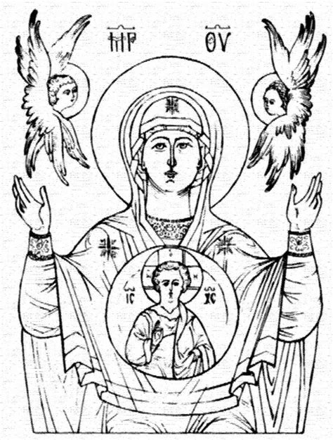 christian icon coloring pages byzantine icons religious coloring pages coloring pages