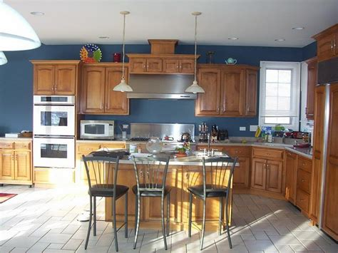 kitchen colors with wood cabinets feel a brand new kitchen with these popular paint colors