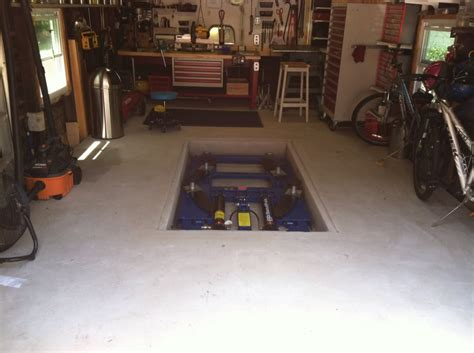 In Ground Garage Lift by In Ground Lifts Pros Cons And Suggestions