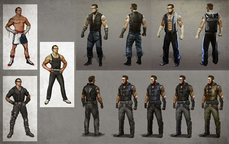 mortal kombat x concept artwork