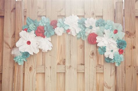 Paper Wedding Decorations by Paper Flowers For Eco Chic Weddings