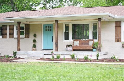 home exterior makeover diy home exterior makeover popsugar home