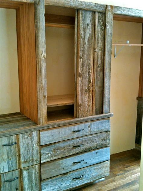 Rustic Wardrobes by South Boulder Rustic Wardrobe Denver By Defined