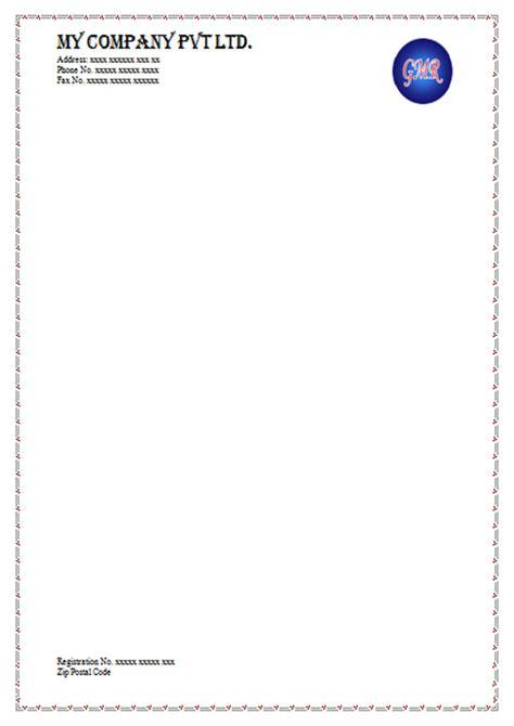 free downloadable letterhead templates free letterhead sle templates and use