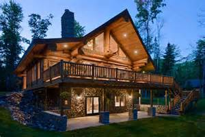 Log Home Basement Floor Plans by Walkout Basement House Plans Log Homes With Walkout