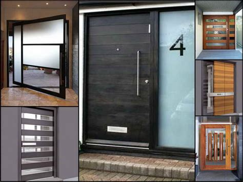 exterior modern doors doors on pinterest modern exterior front door design