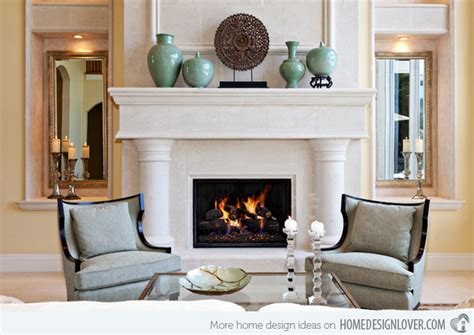 Modern Mantel Decor by 15 Traditional Mantel Designs Home Design Lover