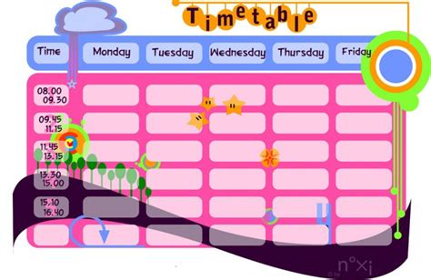 school timetable template free great school timetable templates 187 saxoprint uk
